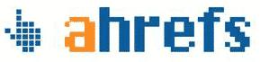 Logo for Ahrefs backlink audit tool