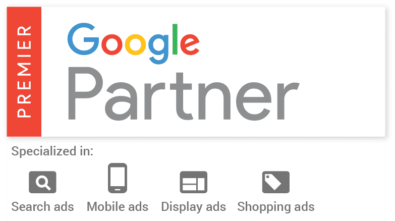 Pure Visibility is a Premier Google Partner