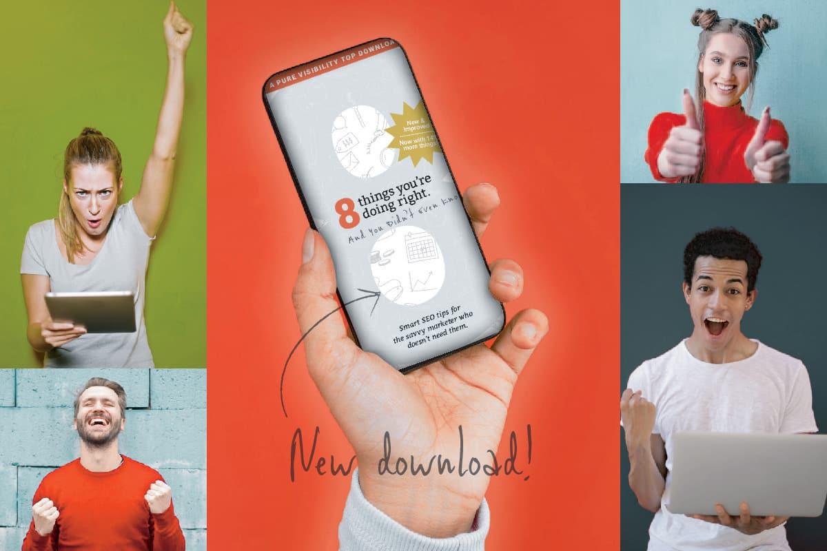 Happy digital marketers