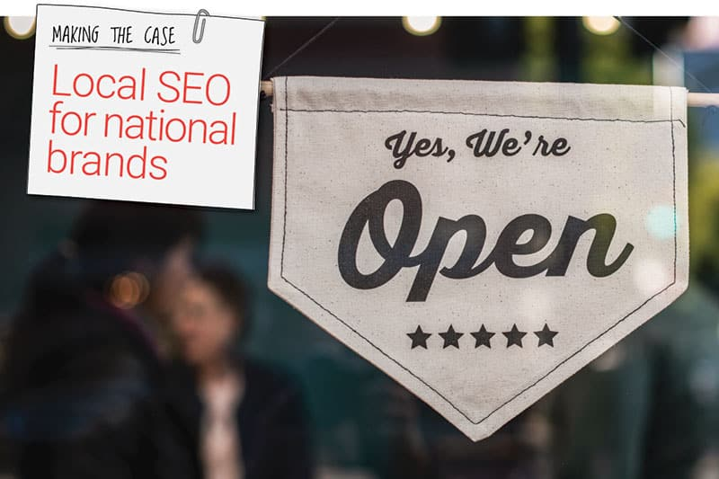 Local SEO for national brands