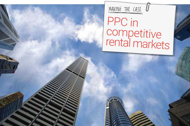 PPC in competitive rental markets