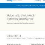 Linkedin Marketing Success Hub Screenshot